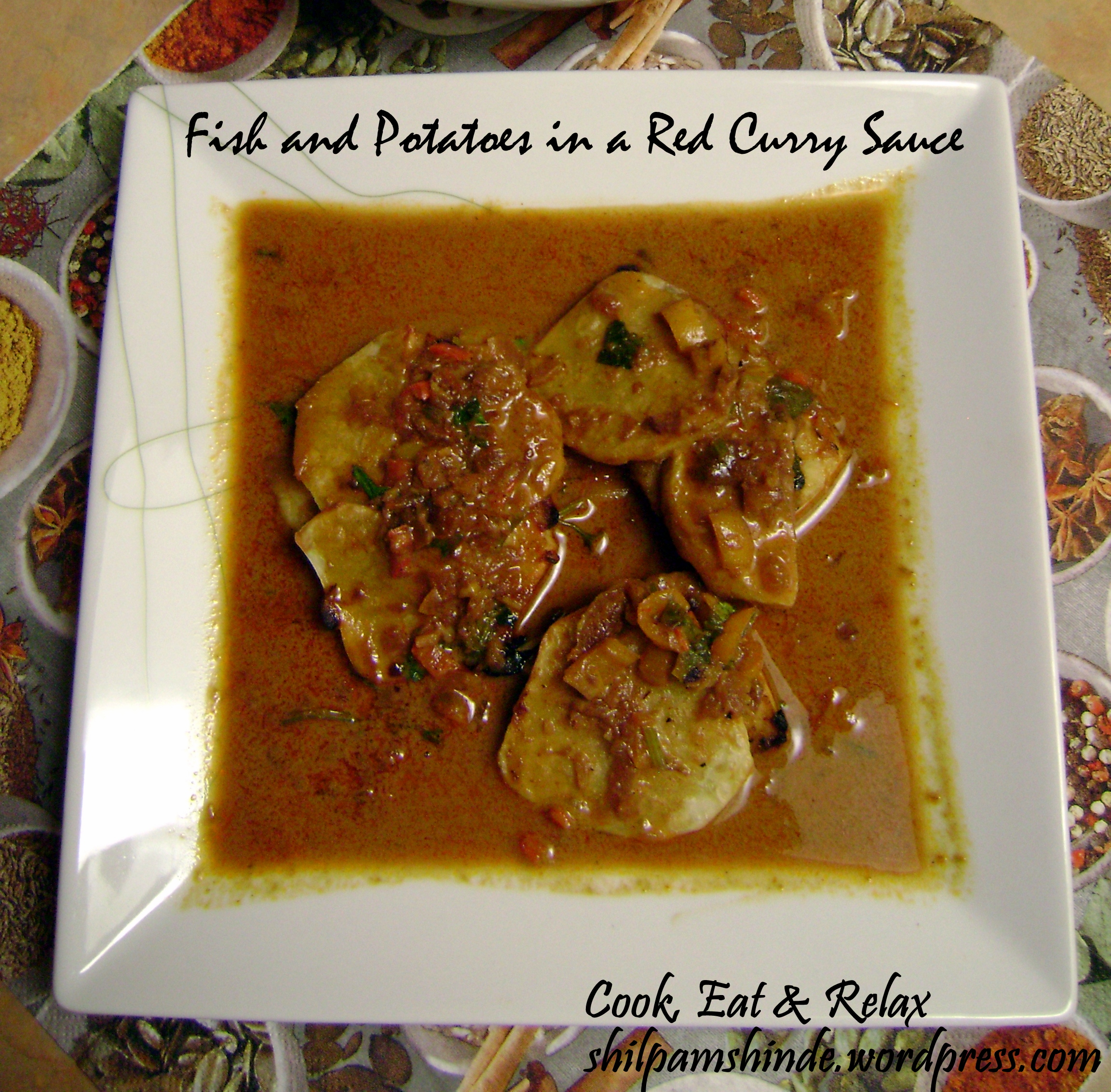 how to make red curry sauce